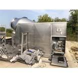 2004 CFS Model TR6 6,600 Lb Front Loading Stainless Steel Vacuum Tumb | Rig Fee: $750 See Full Desc