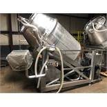 Wolfking Model TR2.5 2,500 LB Stainless Steel Vacuum Tumbler, S/N 870 | Rig Fee: $500 See Full Desc
