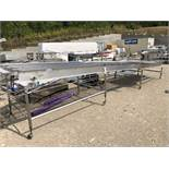 Conveyor, Approx 43in W x 24ft L | Rig Fee: $250 See Full Desc