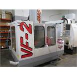 1998 Haas VF-2 4-Axis CNC Vertical Machining Center s/n 16681 w/ Haas Controls, 20-Station ATC,