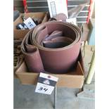 "4"" and 6"" Sanding Belts (SOLD AS-IS – NO WARRANTY)"