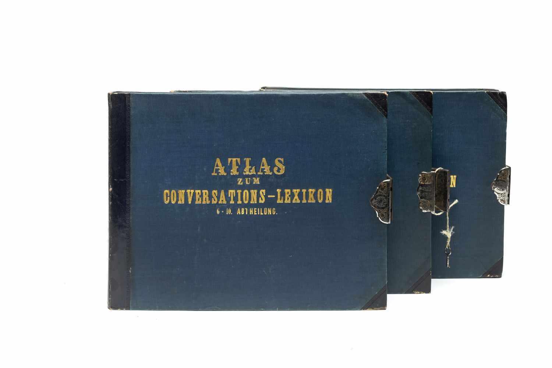 BROCKHAUS Conversations-Lexikon - HECK, Johann GeorgBilder-Atlas zum Conversations-Lexikon