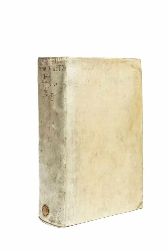 PEZ, Hieronymus (Ed.)Scriptores rerum Austriacarum veteres ac genuini. Bd. 1 (v. 3). Lpz., Gleditsch