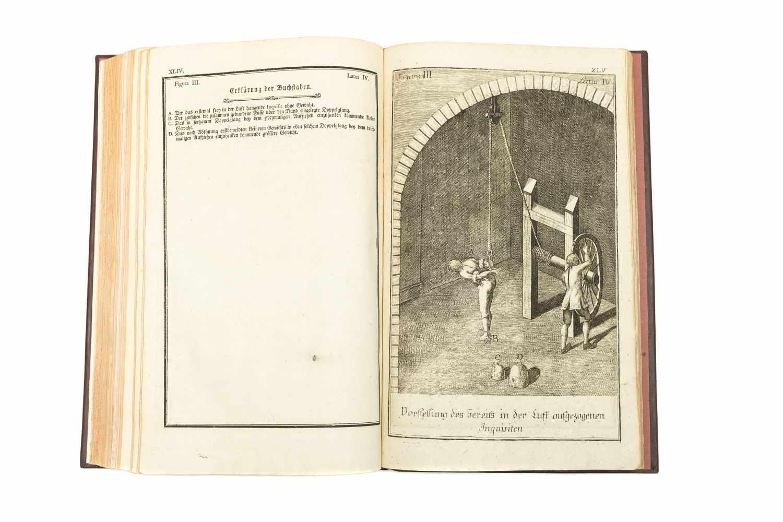MARIA THERESIA Constitutio Criminalis Theresiana oder der Römisch-Kaiserl. zu Hungarn und Böheim - Image 2 of 4