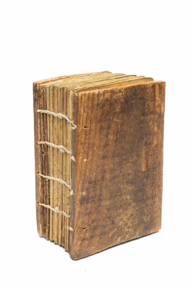 ÄTHIOPISCHE LITURGIEManuskript. [Äthiopien ca. 1916]. 8°. (15, 7 x 9, 3 cm.). 122 Bll. Mit 2