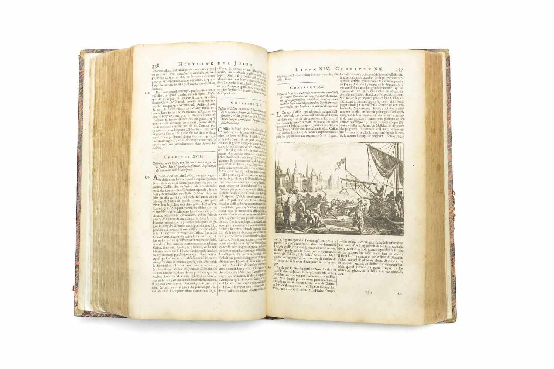 JOSEPHUS FLAVIUSHistoire des juifs, ecrite par Flavius Joseph, Sous le Titre de Antiquitez - Image 2 of 4