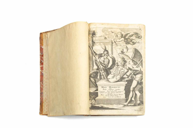 PESSINA, Thomas JohannesMars Moravicus. Sive bella horrida et cruenta, seditiones, tumultus, - Image 2 of 2