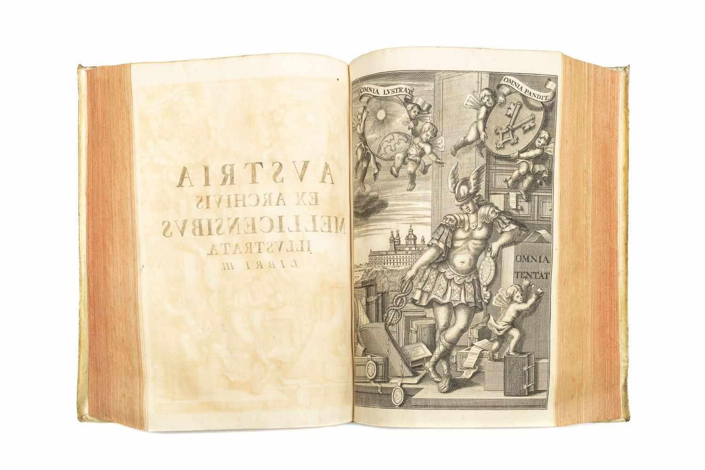 PEZ, Hieronymus (Ed.)Scriptores rerum Austriacarum veteres ac genuini. Bd. 1 (v. 3). Lpz., Gleditsch - Image 4 of 5