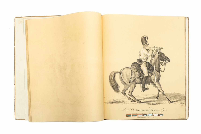 PAPIN, HeinrichBildliche Darstellung der K. K. Oesterreichischen Armee. Wien, Jos. Trentsensky, ( - Image 3 of 3