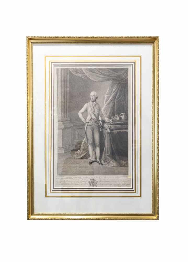 FRANZ II (I). - PFEIFFER, Carl (Hermann)Francois II. Empereur d'Allemagne et d'Autriche d'Hongrie et