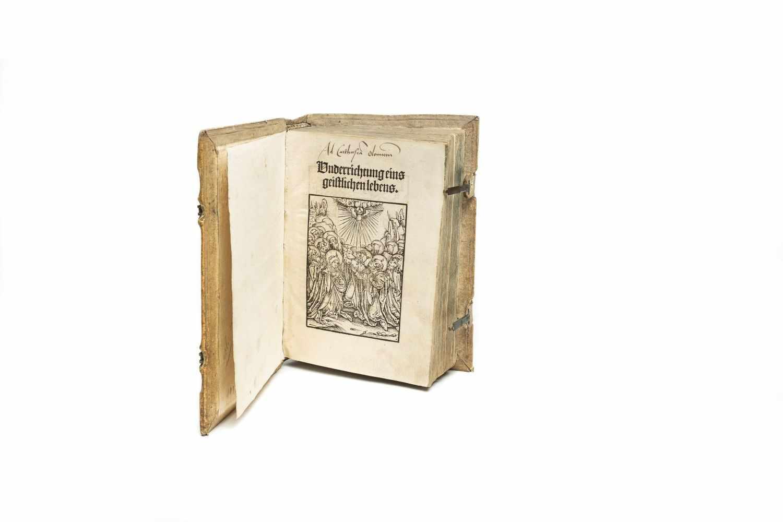 IUSTINIANUS, LaurentiusUnderrichtung eins geistlichen lebens. Strassburg, Johann Prüß d. Ä. 1509.
