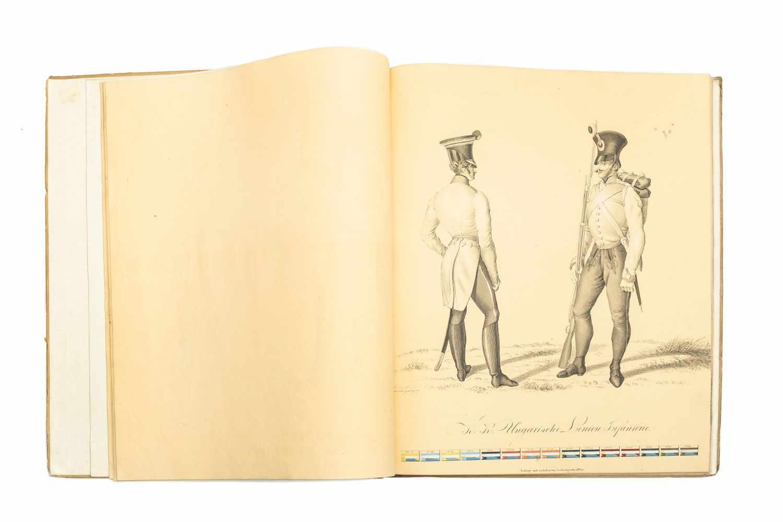 PAPIN, HeinrichBildliche Darstellung der K. K. Oesterreichischen Armee. Wien, Jos. Trentsensky, ( - Image 2 of 3