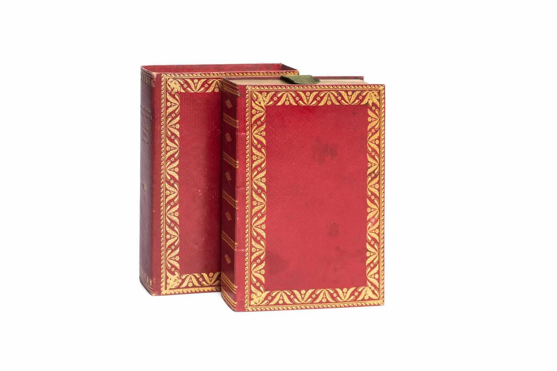 ALMANACCOdella Ducal Corte di Parma per l'anno MDCCCXXIX. Parma, dalla Tipografia Ducale (1828). - Image 2 of 3