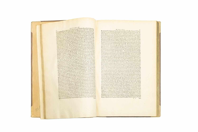 HERODOTUSLogoi ennea [graece]. Libri novem, quibus musarum indita sunt nomina, Clio. Euterpe. - Image 3 of 3