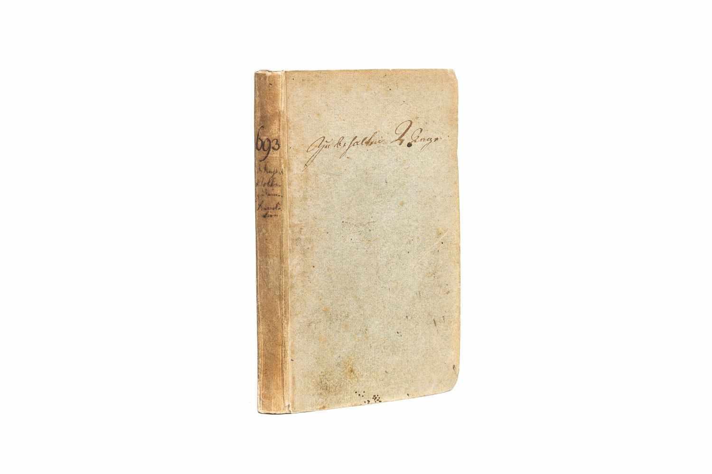 ERHARD, Johann BenjaminUeber das Recht des Volks zu einer Revolution. Jena und Leipzig, Gabler 1795.