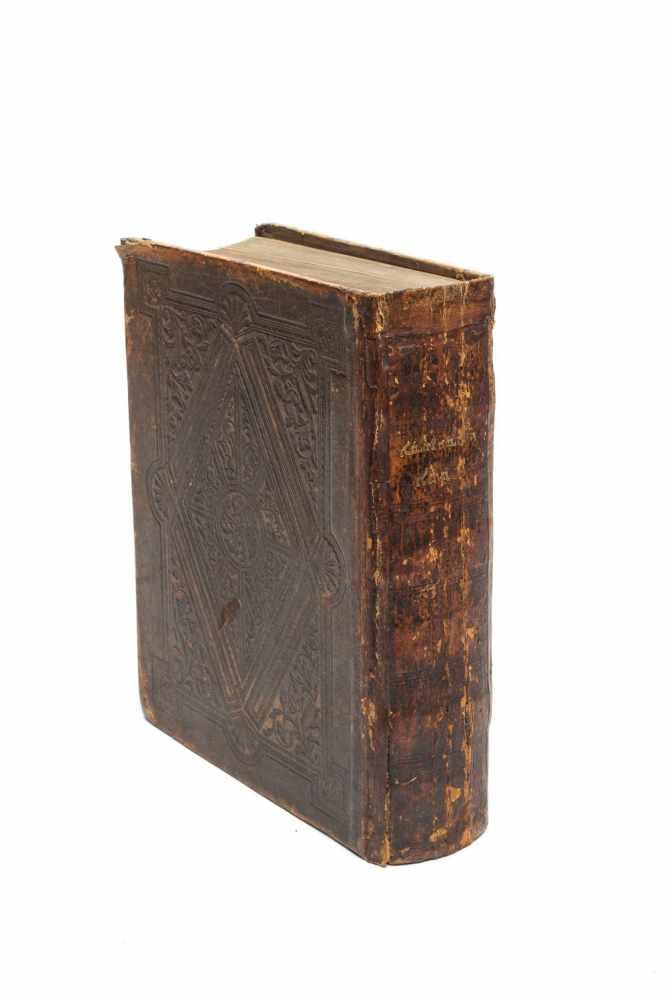 BIBLIA SYRIACAKěṯāḇe qaddīše h̄ kěṯāḇe děḏiyaṯiqi ʻattīqā waḥḏaṯa. 2 Tle. in 1 Bd. London, Samuel