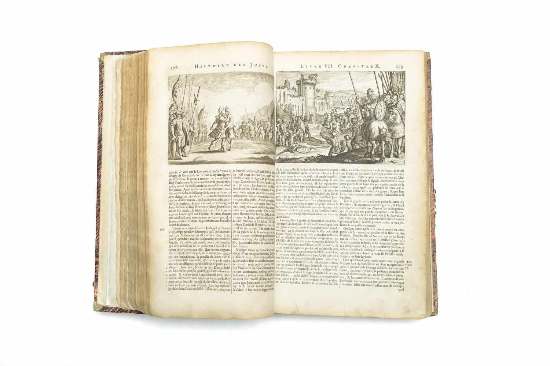 JOSEPHUS FLAVIUSHistoire des juifs, ecrite par Flavius Joseph, Sous le Titre de Antiquitez - Image 4 of 4
