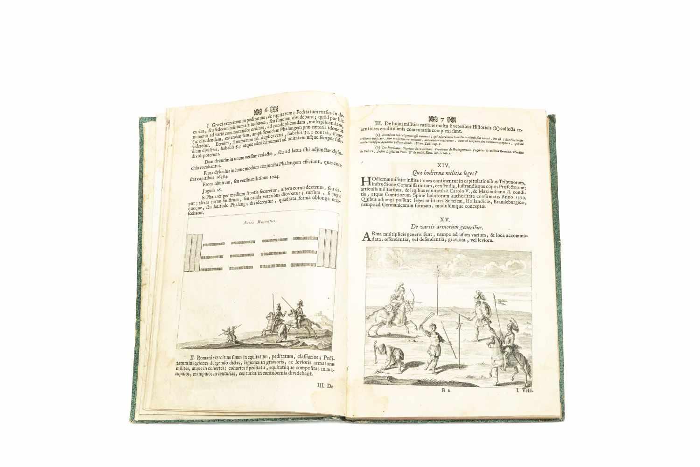 MONTECUCCOLI, Franciscus RaymundusCommentarii Bellici Raymundi Sac. Rom. Imp. Principis Montecuccoli - Image 3 of 4