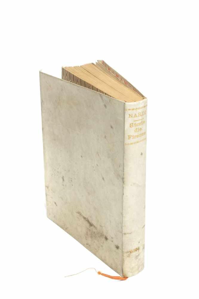 NARDI, M. IacopoLe Storie della citta di Firenze. Doue con tutte le particolarità, che si possono - Image 2 of 2