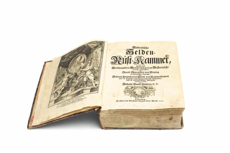 SCHRENCK VON NOTZING, JakobAmbraßische Helden-Rüst-Kammer: welche von Ferdinanden, Ertzhertzogen - Image 2 of 2