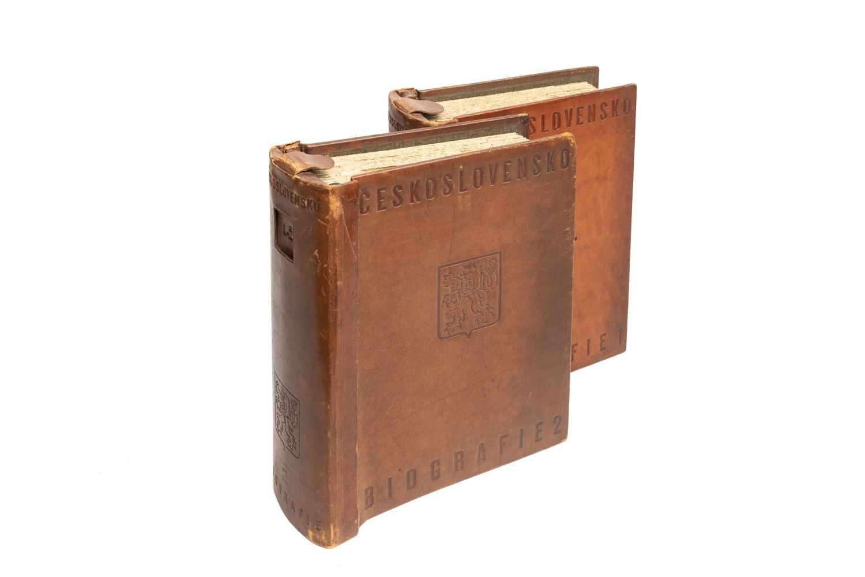 KOUTNIK, Bohuslav (Ed.)Ceskoslovensko Biografie. [Und] Archivni Cast. 2 Bde. (komplett). Praha [