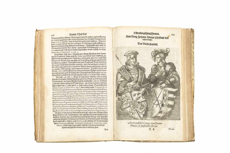 OLDENBURG - HAMELMANN, HermannOldenburgisch Chronicon. Das ist Beschreibung der Grafen zu - Image 2 of 3
