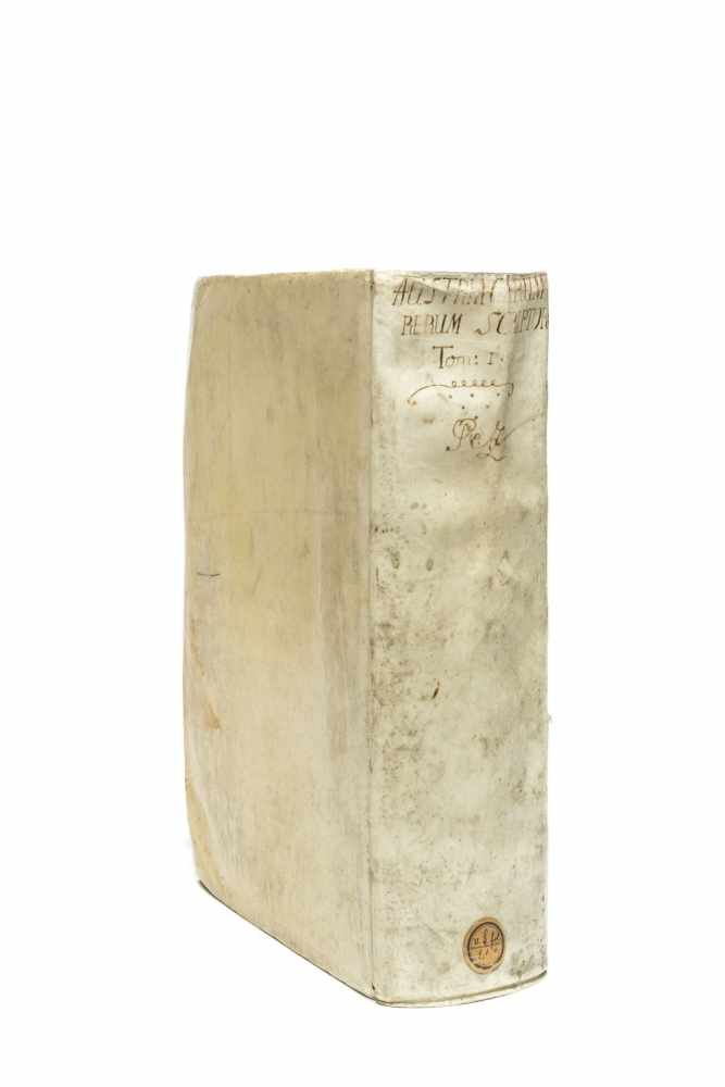 PEZ, Hieronymus (Ed.)Scriptores rerum Austriacarum veteres ac genuini. Bd. 1 (v. 3). Lpz., Gleditsch - Image 3 of 5