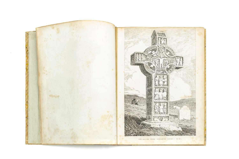 IRELANDThirty-six etchings of Irish Antiquities. Unpublished. [Privately printed] 1830. 4°. Titelbl, - Image 3 of 3