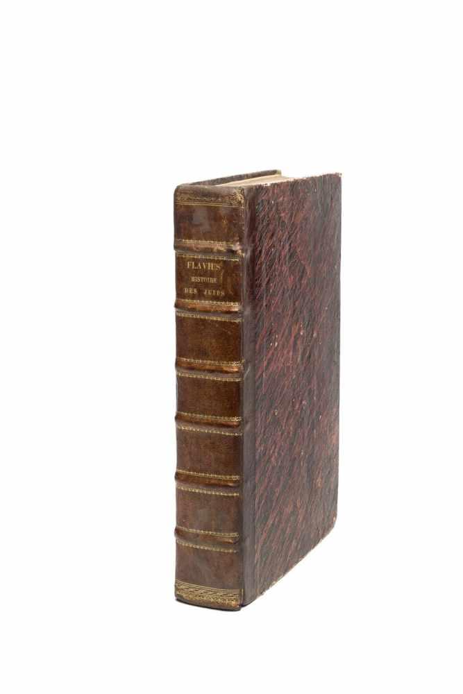 JOSEPHUS FLAVIUSHistoire des juifs, ecrite par Flavius Joseph, Sous le Titre de Antiquitez