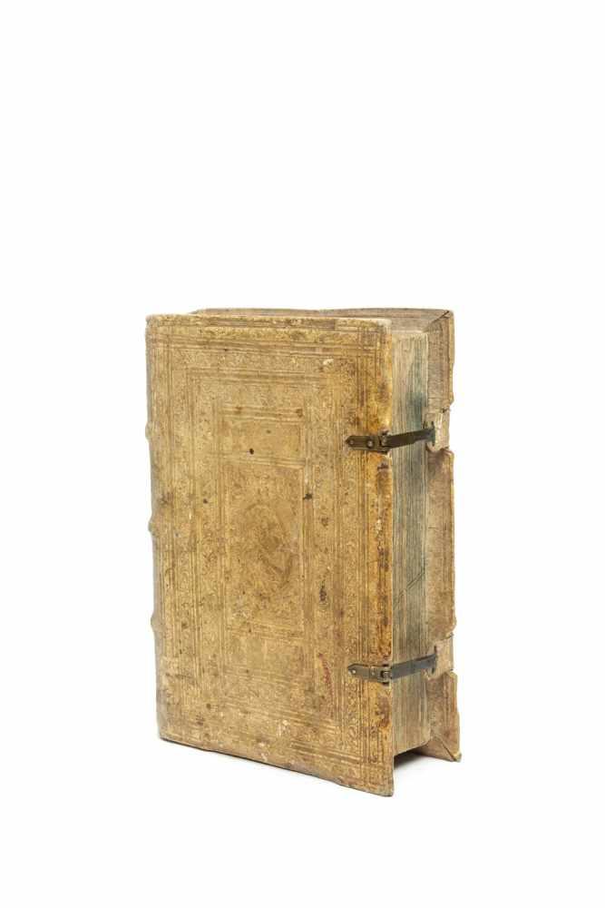 IUSTINIANUS, LaurentiusUnderrichtung eins geistlichen lebens. Strassburg, Johann Prüß d. Ä. 1509. - Image 2 of 3