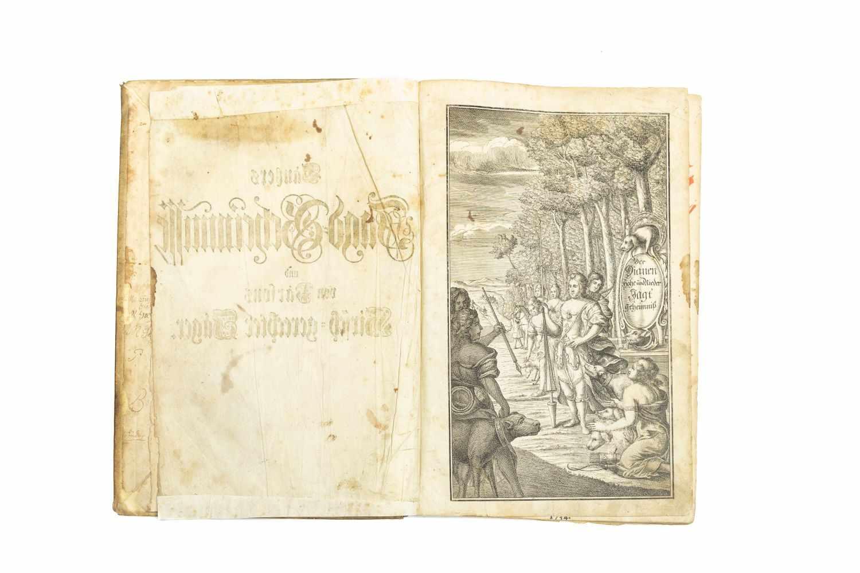 TANTZER, Johann Der Dianen Hohe und Niedere Jagd-Geheimnisse, Darinnen die gantze Jagd- - Image 2 of 5