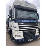 DAF FT XF105.460 SSV Euro 5, 4 x 2 Space Cab Tractor Unit , Recorded Usage 537,191 KM, Automatic