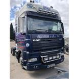 DAF FT XF105.410 LD SS, Euro 5, 4 x 2 Super Space Cab Tractor Unit , Recorded Usage 765,173 KM,