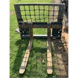 Bobcat Palletine Attachment with Forks - (Located in Derby DE72 3RD - Collection By Appointment on