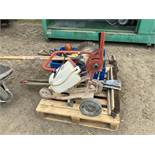Hilti DSH-FSC 01 Floor Saw Cart for use with Hilti DSH 700 & DSH 900 Gas Saws, together with