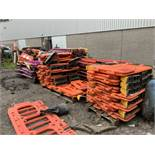 Large Quantiy (Approx 7 Pallets) of Traffic Management Road Barriers, Various Interlocking Barrier