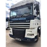 DAF FT XF105.460 SP, 4 x 2 Space Cab, Euro 5, Tractor Unit, Recorded Usage 472,952, Manual