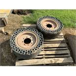 2: Bobcat Wheels & Tyres - (Located in Derby DE72 3RD - Collection By Appointment on Wednesday