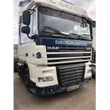 DAF FT 105 XF 410 LD SP Euro 5, 4 x 2 Space Cab Tractor Unit , Recorded Usage 661,131 KM,