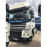 DAF FT XF105.410SS 4 x 2 Space Cab, Recorded Usage 637,535 Miles, Manual Gearbox, Fitted with Lo Pro