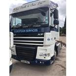 DAF FT XF105.410 LD SP Euro 5, 4 x 2 Space Cab Tractor Unit , Recorded Usage 690,689 KM, Automatic