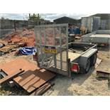 Indespension V20 Twin Axle Plant Trailer, 2,700Kg Capacity, Vin No.GG124667 (2016) - (Located in