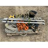 Globestock EN795 Tripod with Accessories, Harness, Ropes, Slings, Hooks and Chain - (Located in
