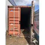 Shunde Shun Pacific Container Co. Type SC4H - TA-01 - 40 Ft Steel Shipping Container