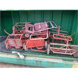 Quantity of Various Trolley's and Flexi Pipe with Connectors - (Located in Derby DE72 3RD -