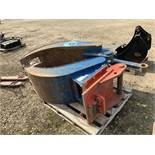 McQuaid Engineering MB2500 Solid Leg Grapple to Suit 20 Tonne Excavator, Serial No. MB00218 (2012)
