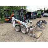 Bobcat S70 Compact Skid Steer, Serial No. B38W12764 with Bucket (2017) Hours 371.9 - (Located in