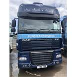 DAF FT 105 XF105.460 SSV Euro 5, 4 x 2 Super Space Cab Tractor Unit , Recorded Usage 790,356 KM,