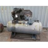 10Hp Horizontal Air Compressor w/ 3-Stage Pump, 120 Gallon Tank