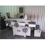 "Kent KGS-250AHD 8"" x 20"" Automatic Hydraulic Surface Grinder s/n 85010302 w/ Kent Controls,"